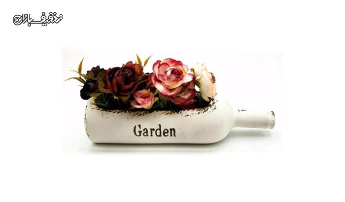 گلدان سرامیکی طرح بطری با ۳۰% تخفیف |