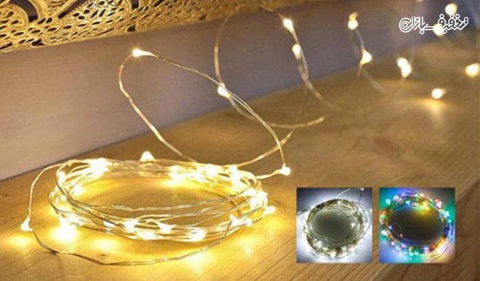 ریسه LED مفتولی با ۳۰% تخفیف |