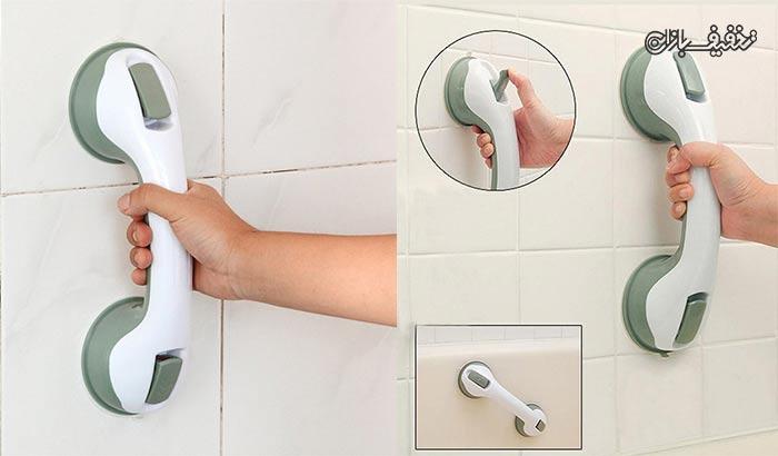 دستگیره قفلی مخصوص دیوار حمام با ۳۴% تخفیف و |