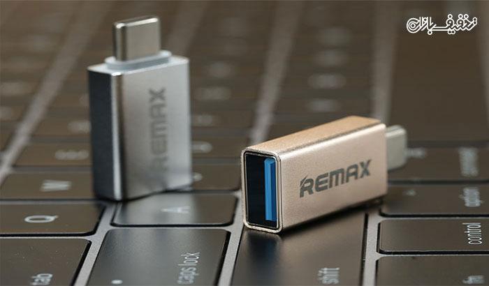 تبدیل او تی جی Remax USB ۳.۰ To Type-C USB ۳.۱ OTG با ۵۰% تخفیف |