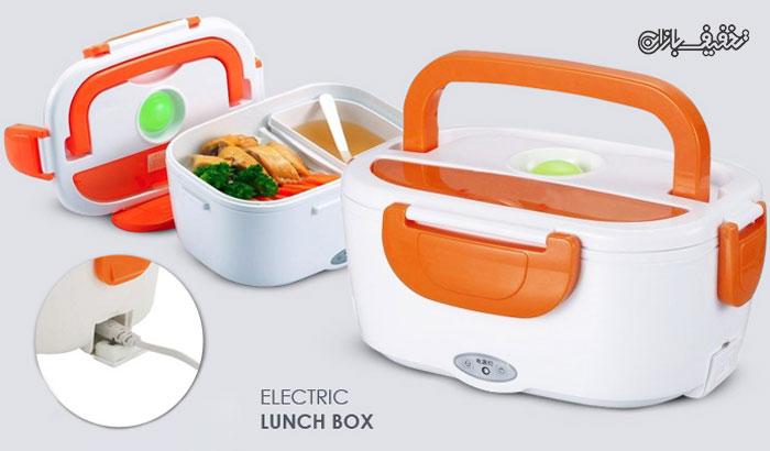 ظرف نگه دارنده غذای برقی Electric Lunch Box با ۳۰% تخفیف |
