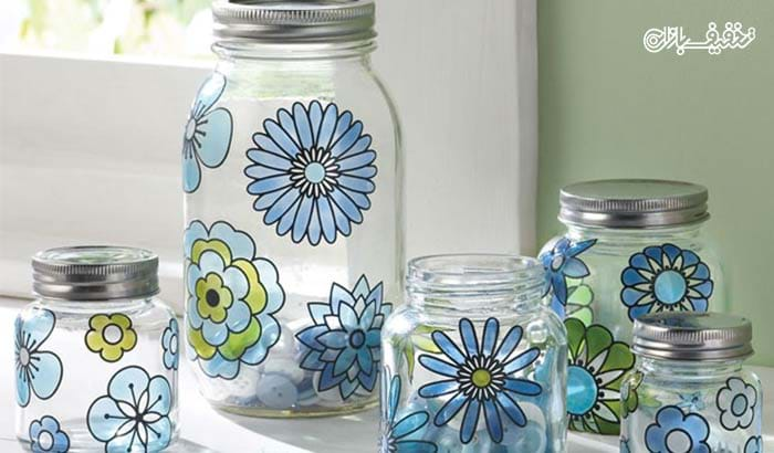 for How to decorate empty glass jars