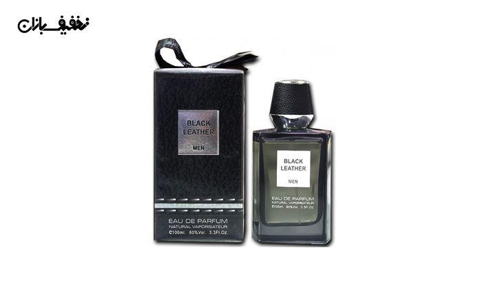عطر مردانه Black Leather برند Fragrance World