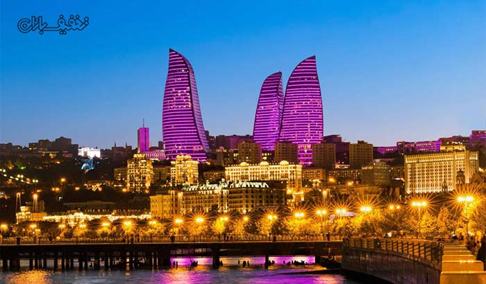 تور زمینی ۷ روزه باکو از شیراز ویژه نوروز همراه با آژانس مسافرتی یاس پرواز شیراز