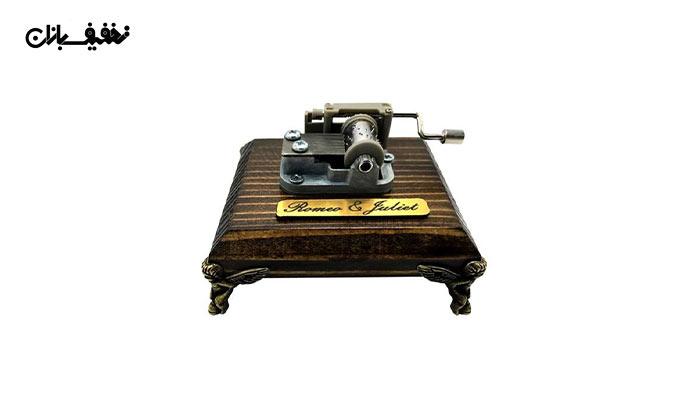جعبه موزیکال دستی بزرگ با ملودی Romeo & Juliet