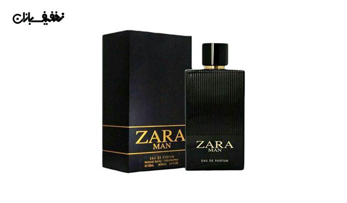 ادو پرفیوم مردانه Zara Man برند فراگرنس ورد Fragrance world