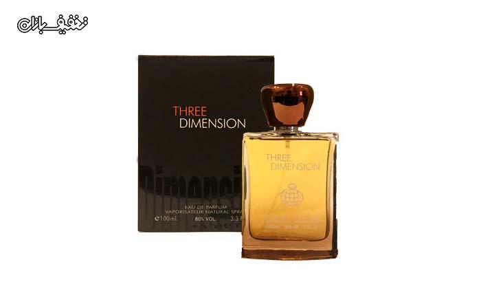 ادو پرفیوم مردانه Three Dimension برند فراگرنس ورد Fragrance world
